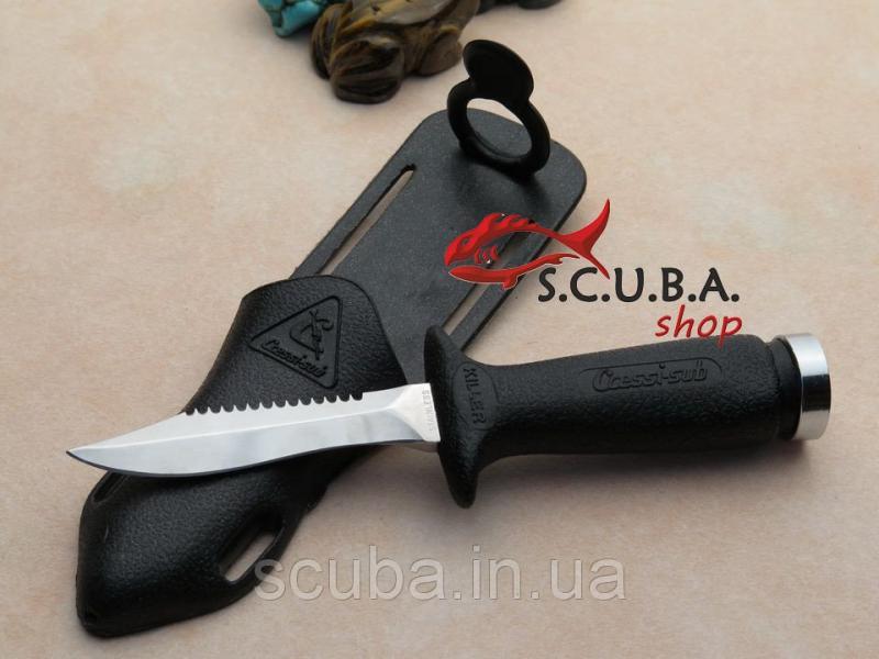 Нож для подводной охоты и дайвинга Cressi KILLER (Кресси Килер)
