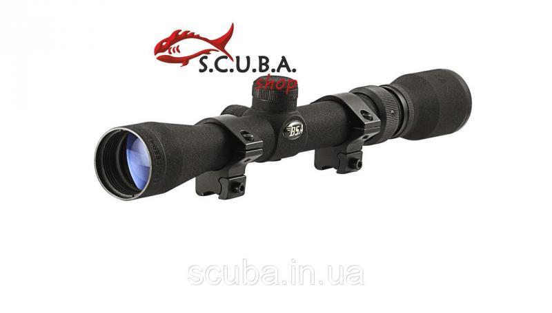 Прицел оптический Пр-2-7x32-BSA для использования на огнестрельном охотничьем и пневматическом оружии
