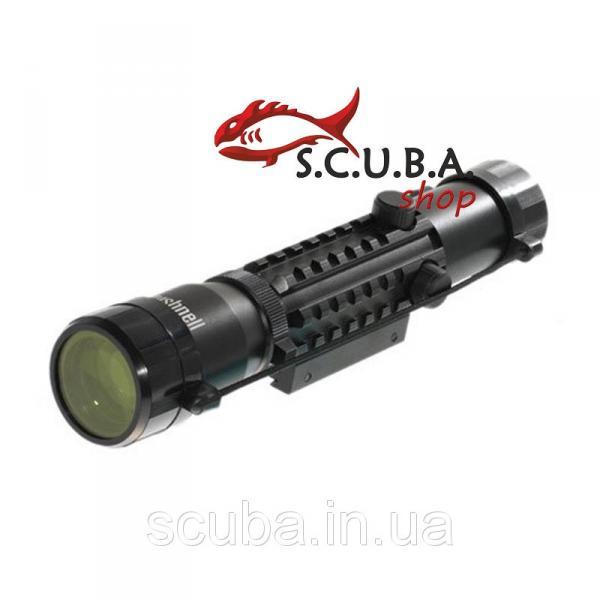 Прицел оптический Bushnell 2-6x28 для использования на огнестрельном охотничьем и пневматическом оружии