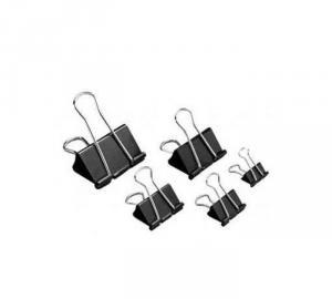 Зажим для бумаги Office Products (19 - 51 мм), 12шт., черные (Разная ширина, цены см. подробнее)
