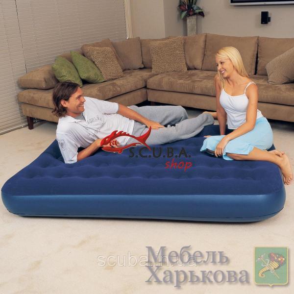 Надувной матрас INTEX 67274 размеры 122х191х22 см - Надувные кровати и матрасы для сна в Харькове