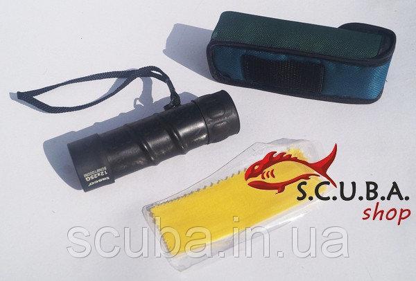 Монокуляр TASCO 12x25 - T-mono для наблюдения любителями животного мира и природы на открытой местности