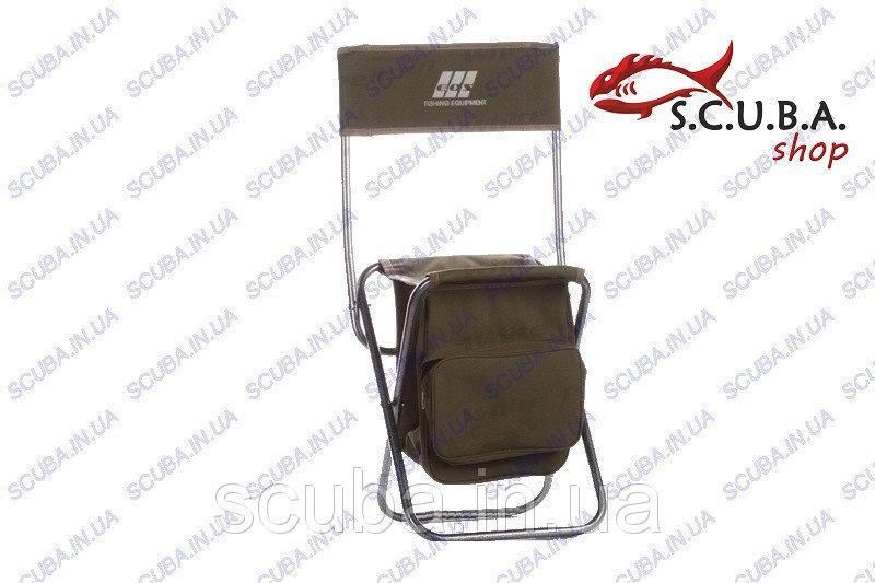 Стул рыбацкий складной со спинкой и сумкой EOS YD06Y03