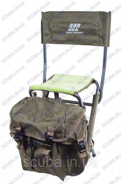 Стул-рюкзак рыбацкий складной со спинкой EOS YD06Y05