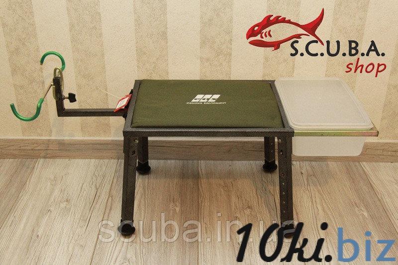 Стул рыбацкий складной с регулируемой подставкой под удилище EOS YD06Y14 купить в Харькове - Стулья туристические складные, стулья садовые