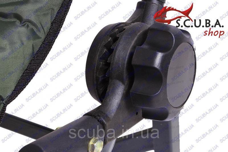 Стул рыбацкий складной со спинкой EOS 7202015