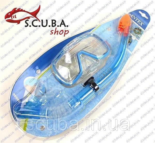 Набор для дайвинга (маска+трубка) Intex FOCUS 55950
