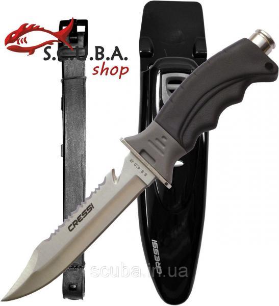 Нож для подводной охоты и дайвинга CRESSI Borg (Борг)
