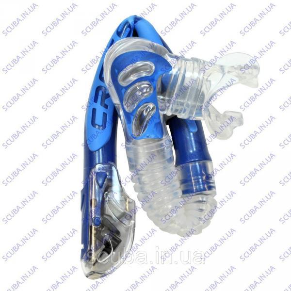 Трубка для плавания, снорклинга CRESSI-SUB ALPHA DRY