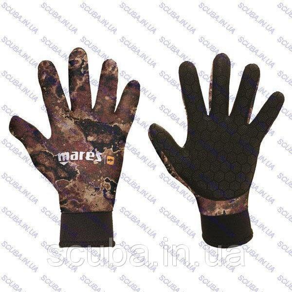 Перчатки для подводного плавания Mares CAMO BROWN 3 мм