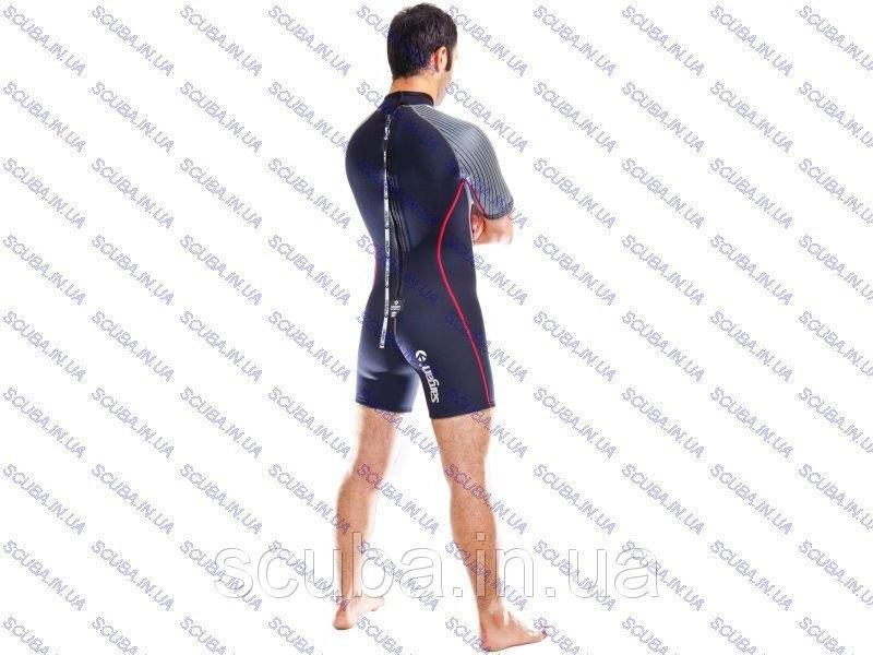Мужской короткий гидрокостюм для плавания Nero 3 мм