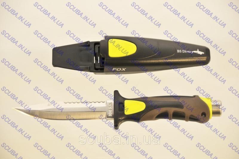 """Нож для подводной охоты BS Diver """"Fox"""""""
