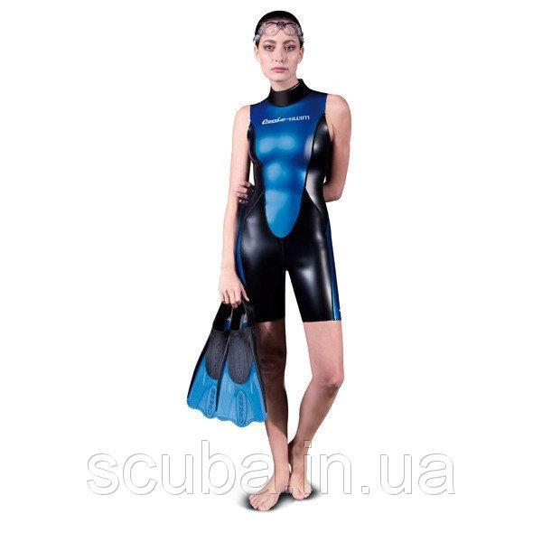 Гидрокостюм женский для плавания Cressi-sub GLAROS SHORTY LADY 1,5 мм