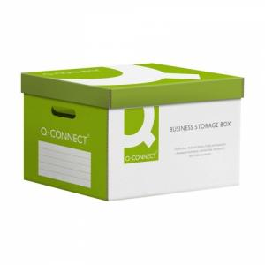 Коробка архивная q-connect (Бокс для архивных коробок, вмещает до 6 папок-рег. 75 мм))