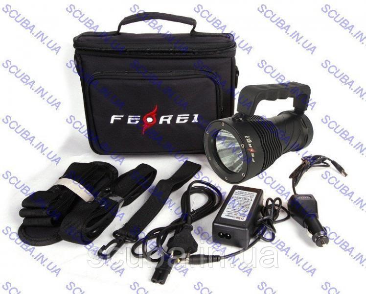 Фонарь для дайвинга Ferei W170 SST-90 (2200Lm холодный свет диода)