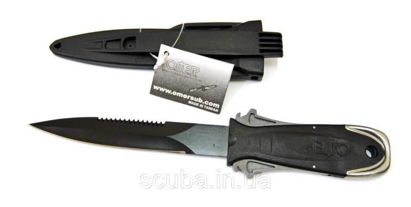 Нож для подводной охоты Omer Maxi Laser