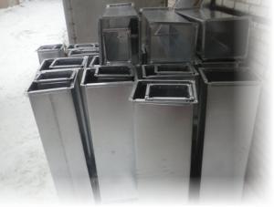 Фото Воздуховоды Воздуховоды прямоугольные из оцинкованной стали