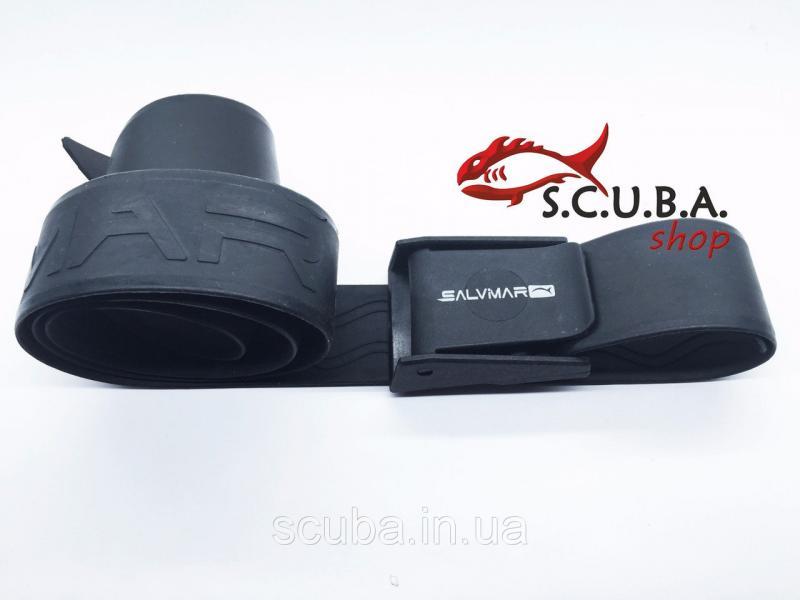 Пояс для грузов Salvimar PRO резиновый, пластиковая пряжка