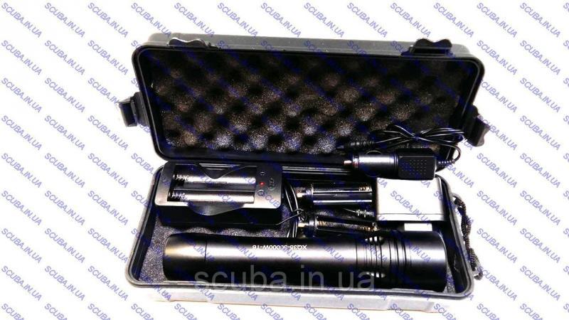Фонарь для подводной охоты Bailong XQ35, аккумуляторный