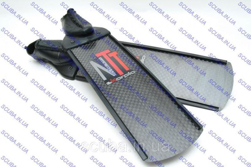 Ласты карбоновые C4 Skorpio NTT 100% Carbon для фридайвинга