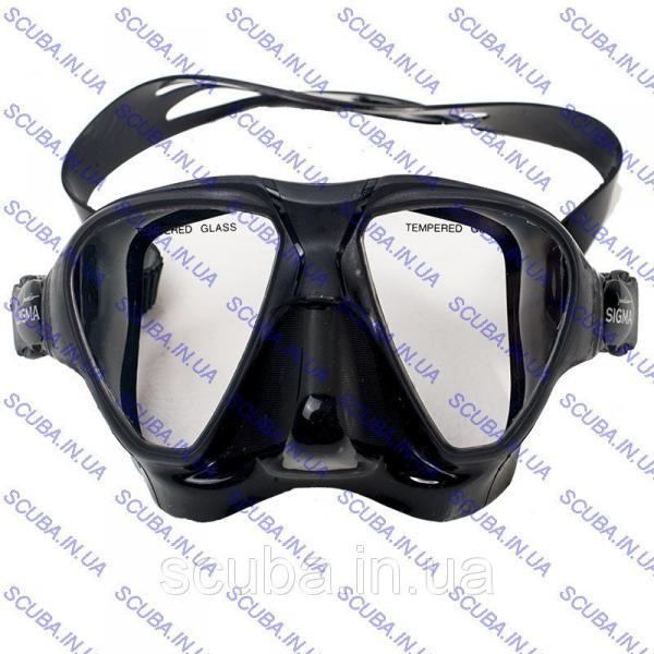Маска для подводной охоты Marlin Sigma Black
