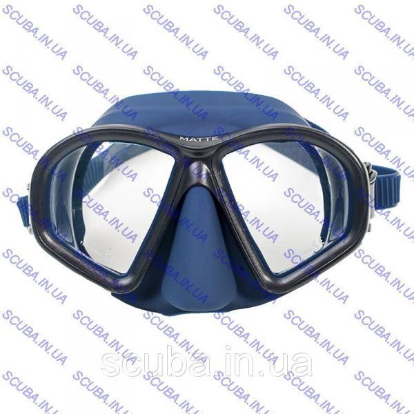 Маска для подводной охоты Marlin Matte Blue