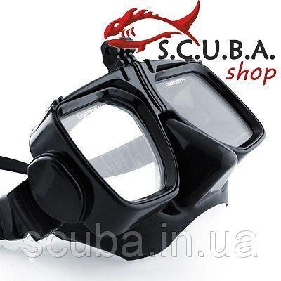 Маска Cressi Action Black для плавания (с креплением для видеокамеры)