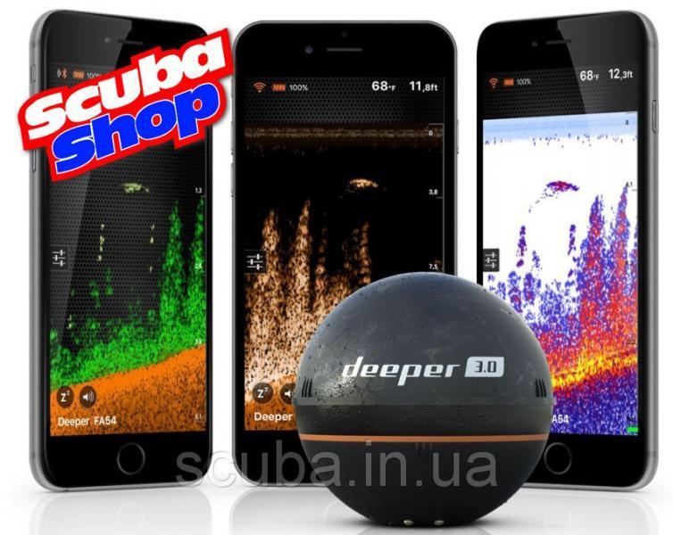 Беспроводный эхолот Deeper 3.0 Bluetooth (FLDP10)