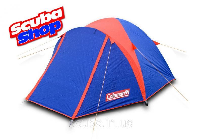 Палатка Coleman Х-3006 туристическая 2-местная, двухслойная