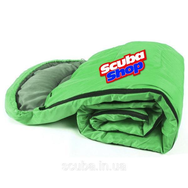 Спальный мешок VERUS Nord Green 0 °C - 10 °C, цвет Green (Верус Норд Грин)