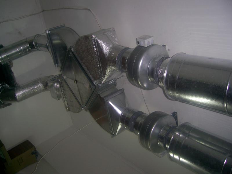 Приток и вытяжка с рекуперацией тепла в системе вентиляции