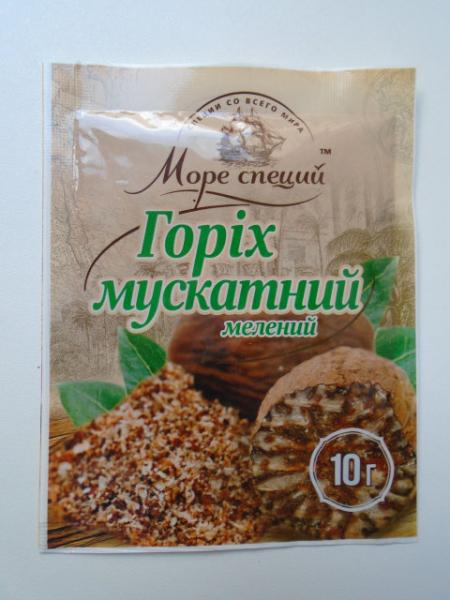 Мускатный орех молотый, 10 гр.