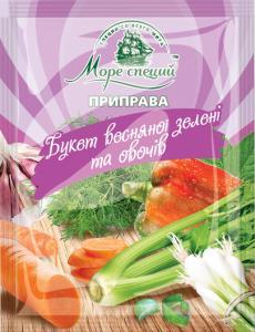 Фото Приправы и специи Букет весенней зелени и овощей, 30 г.