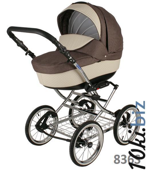 Классическая коляска (2в1) BEBE-MOBILE SANTANA ЭКО-КОЖА 50% (2в1) Коляски-люльки, коляски-трансформеры в России