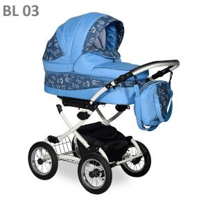 Фото Коляски, Классические коляски 2 в 1 Коляска классическая (2в1) INDIGO BLUES (2в1)