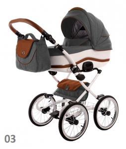 Фото Коляски, Классические коляски 3 в 1 Классическая коляска (3в1) TAKO DALGA LIFT (3в1)