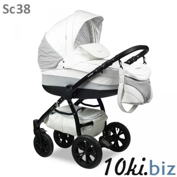 Коляска модульная (2в1) INDIGO CARMEN 17 S (2в1) Коляски-люльки, коляски-трансформеры в России