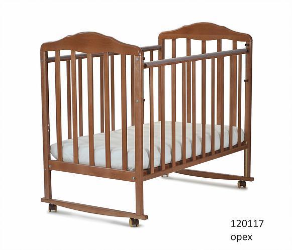 Кроватка классическая СКВ Березка-12011 (цвет в ассортименте)