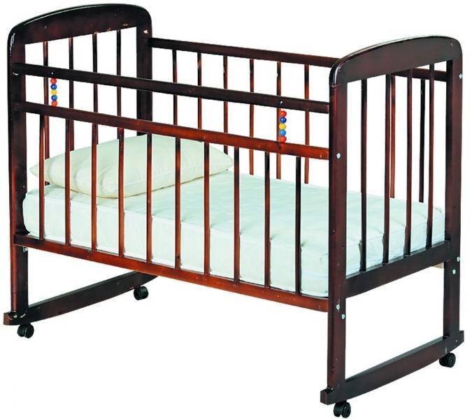 Кроватка классическая Мишутка 8-01 (2 цвета)