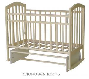 Фото Кроватки, Кроватки-маятники Кроватка-маятник Алита Антел-3 (цвет в ассортименте)