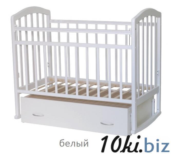 Кроватка-маятник Алита Антел-4 с ящиком (цвет в ассортименте) Кроватки для новорожденных, колыбели в России