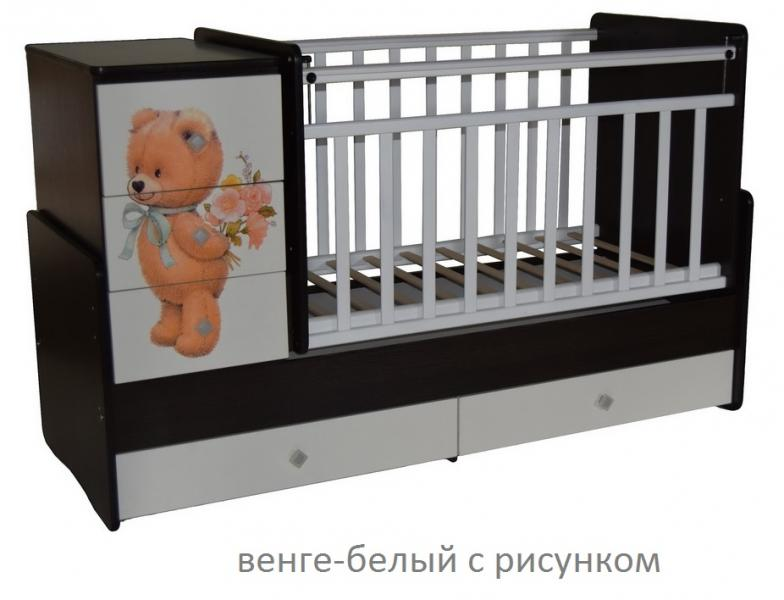 Кроватка-трансформер Алита Ульяна-2 (цвет в ассортименте)