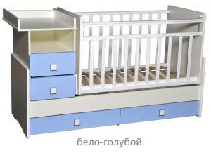 Фото Кроватки, Кроватки-трансформеры Кроватка-трансформер Алита Ульяна-4 (цвет в ассортименте)