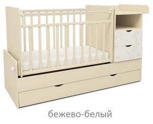 Фото Кроватки, Кроватки-трансформеры Кроватка-трансформер СКВ-5 Жираф-55 (цвет в ассортименте)