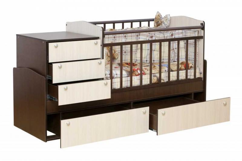 Кроватка-трансформер Укачай-ка Комби