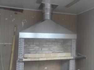 Фото Зонт вытяжной Зонт вытяжной для мангала