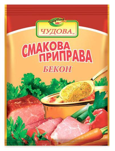 Вкусовая приправа с беконом,100 г