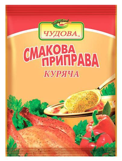Вкусовая приправа куриная,100 г