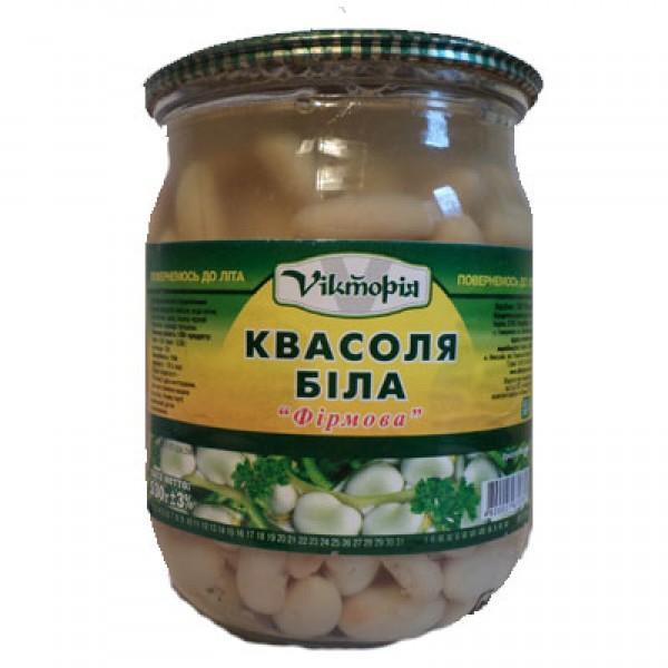 """Фасоль белая """"Фирменная"""" 480 гр"""