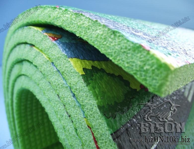 Фото  Маты & Карематы Развивающий детский коврик «Городок XXL»,    2000 х 1100 х 8 мм